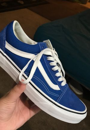 Blue vans Size 8 1/2 for Sale in Redwood City, CA