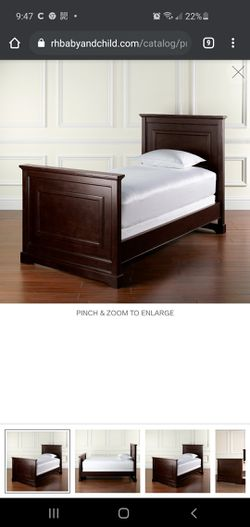 Restoration hardware twin bed for Sale in Tampa,  FL