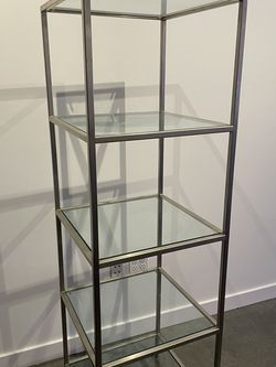 Sturdy Metal and Glass Display Shelf for Sale in Lynnwood,  WA