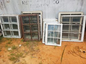 Vintage wood windows for Sale in Broadway, NC