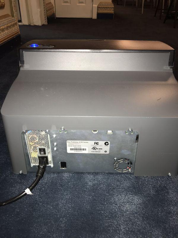 DVD disc printer