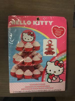 Hello Kitty Cupcake stand for Sale in Pompano Beach, FL