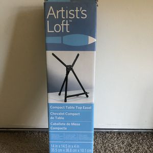 Tabletop compact easel - Artists loft for Sale in Fremont, CA