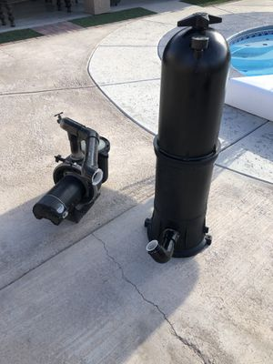 Pool pump and filter for Sale in Las Vegas, NV