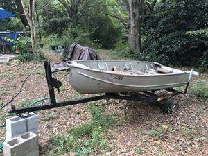 Sears 14' Boat and Trailer for Sale in Marietta, GA
