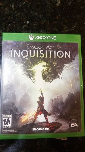Xbox One Dragon Age Inquisition for Sale in Menifee, CA