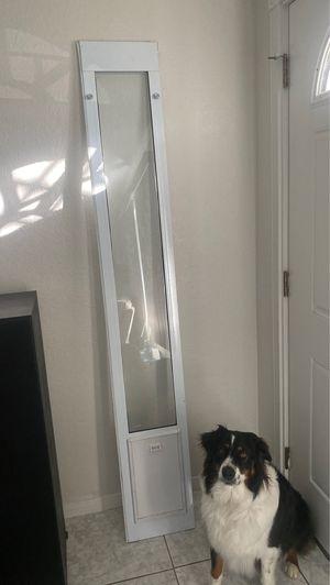 Fastfit Sliding Glass Door Pet Door for Sale in Spring Valley, CA