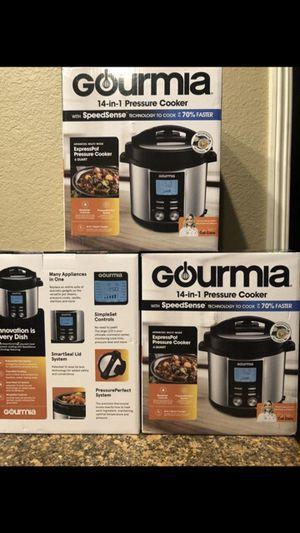 Brand New Gourmia Digital 6-qt. Multi-Mode Pressure Cooker firm$70Each for Sale in Riverside, CA