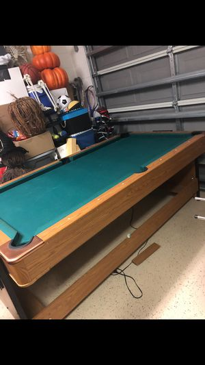 Pool Table / Air Hockey Table & Accessories Pick up only for Sale in Davenport, FL