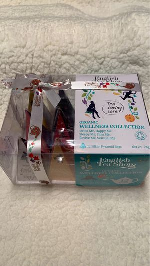 Brand new English Tea Shop wellness collection tea for Sale in Westminster, CO