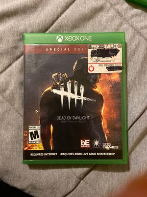 Dead by daylight Xbox one for Sale in South Gate, CA