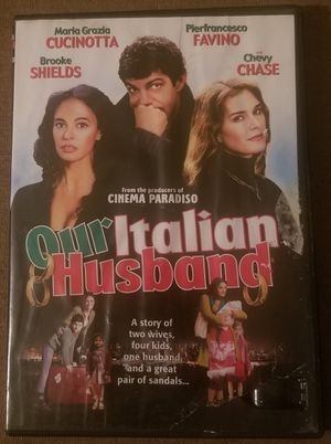 Our Italian Husband dvd stars Chevy Chase for Sale in Three Rivers, MI