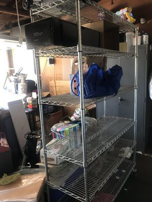 Heavy duty Metal shelving holds up to 800lbs for Sale in Castro Valley, CA
