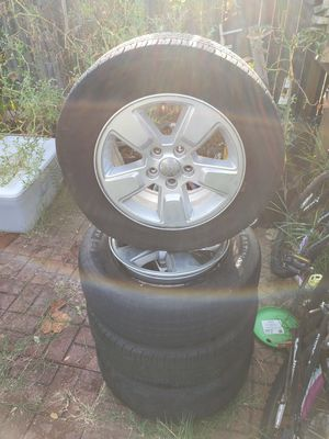 Jeep wheels and tires (Jeep compass) for Sale in Humble, TX