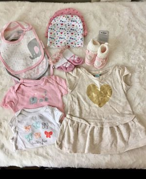0-3 Month Baby Girl Bundle for Sale in Los Angeles, CA