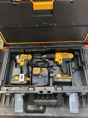 Dewalt drill combo with hard kit for Sale in Houston, TX