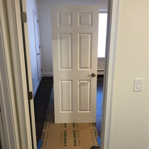 Solid Wood Door 30x80 Excellent Condition for Sale in Milford, CT
