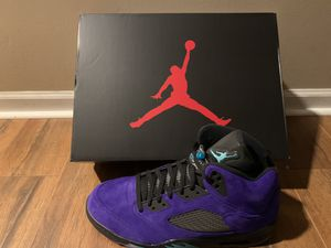 Jordan 5 'Grape Ice' Sz 13 MENS for Sale in Warren, MI