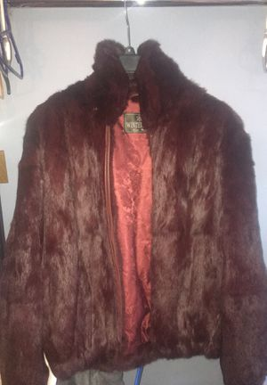Red Winter Rabbit Fur; fits men small/medium for Sale in Philadelphia, PA