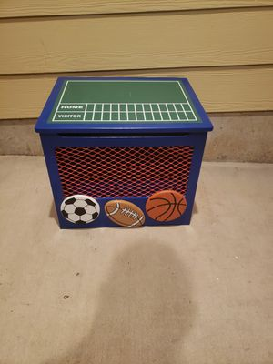 Super cute kids cabinet shelving storage unit bench for Sale in Hillsboro, OR