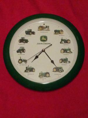 JOHN DEERE farm tractor clock for Sale in Washington, PA