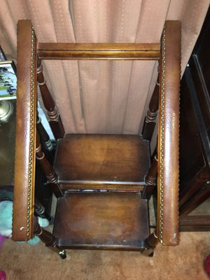 Book Shelves, Chair, Curio, Step Stool for Sale in St. Louis, MO