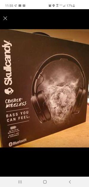 Skullcandy Crusher wireless noise cancelling headphones for Sale in Tucson, AZ
