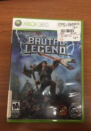 Xbox 360 brutal legend game for Sale in Fort Meade, MD