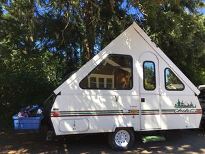 Log Cabin Themed A-frame Chalet Arrowhead Camper for Sale in Tacoma, WA
