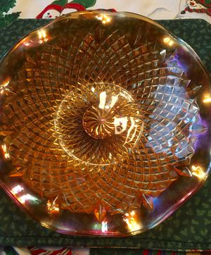 Windsor Federal Glass bowl for Sale in Prospect, ME