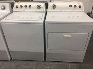 WHIRLPOOL WASHER AND DRYER SET! for Sale in Pineville, NC