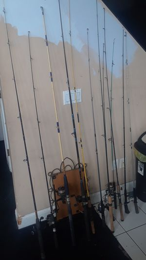 Fishing poles for Sale in Worcester, MA