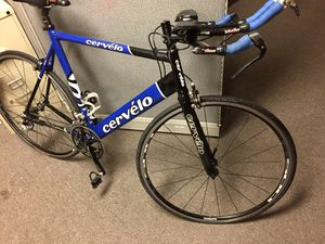 "Cervelo Road Bike size 58"" for sale in good condition for Sale in Dallas, TX"