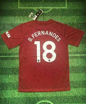 Bruno Fernandes Manchester United Home Jersey 20/21 for Sale in Union, NJ
