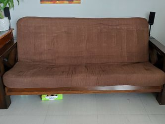 Futon - Wood, Queen for Sale in Miami,  FL