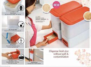 Rice Dispenser Box Tupperware 10kg for Sale in Smoke Rise, GA