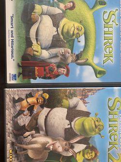 Dreamworks Shrek DVD Set for Sale in Sedro-Woolley,  WA