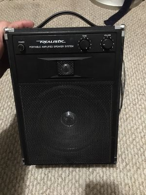 Realistic guitar speaker amp for Sale in Chino, CA