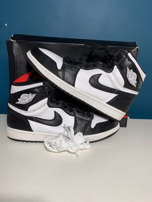 Nike Air Jordan Retro 1 Black/White Size 11 for Sale in South Gate, CA