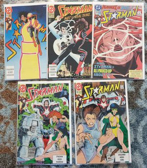 DC COMICS x 5. STARMAN. #36, #37, #39, #40, #41. 1988 SERIES. NEW. BAGGED BOARDED. for Sale in Las Vegas, NV