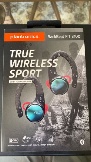 Plantronics Backbeat FIT 3100 Wireless Earbuds for Sale in Irvine, CA