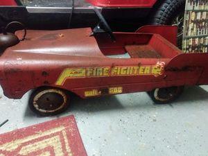 Metal fire truck pedal car for Sale in Savannah, GA
