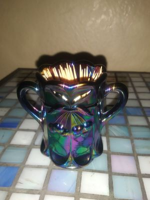 New Antique carnival glass toothpick holder. for Sale in Pomona, CA