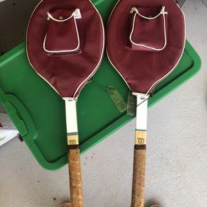 Vintage Tennis Rackets for Sale in Webster, TX