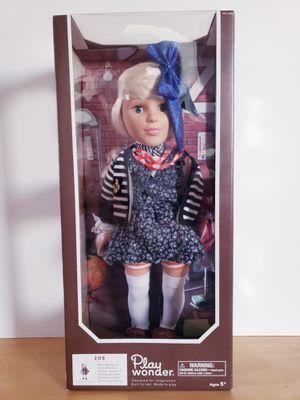 "Play Wonder Zoe 18"" Doll for Sale in Los Angeles, CA"