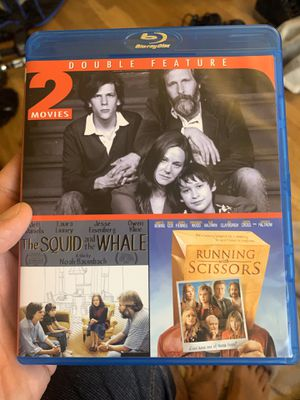 Squid and the Whale Blu Ray *Running with Scissors * for Sale in San Bernardino, CA