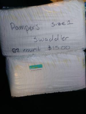 Pampers size 1 for Sale in Phoenix, AZ