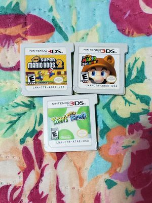 Nintendo Mario yoshi bundle 3ds/ds for Sale in Bronx, NY