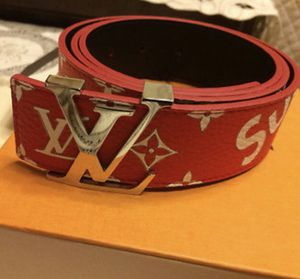 Louis Vuitton x Supreme Belt for Sale in Oswego, SC