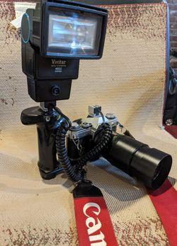 2 Canon AE-1s plus plus plus for Sale in Coraopolis,  PA